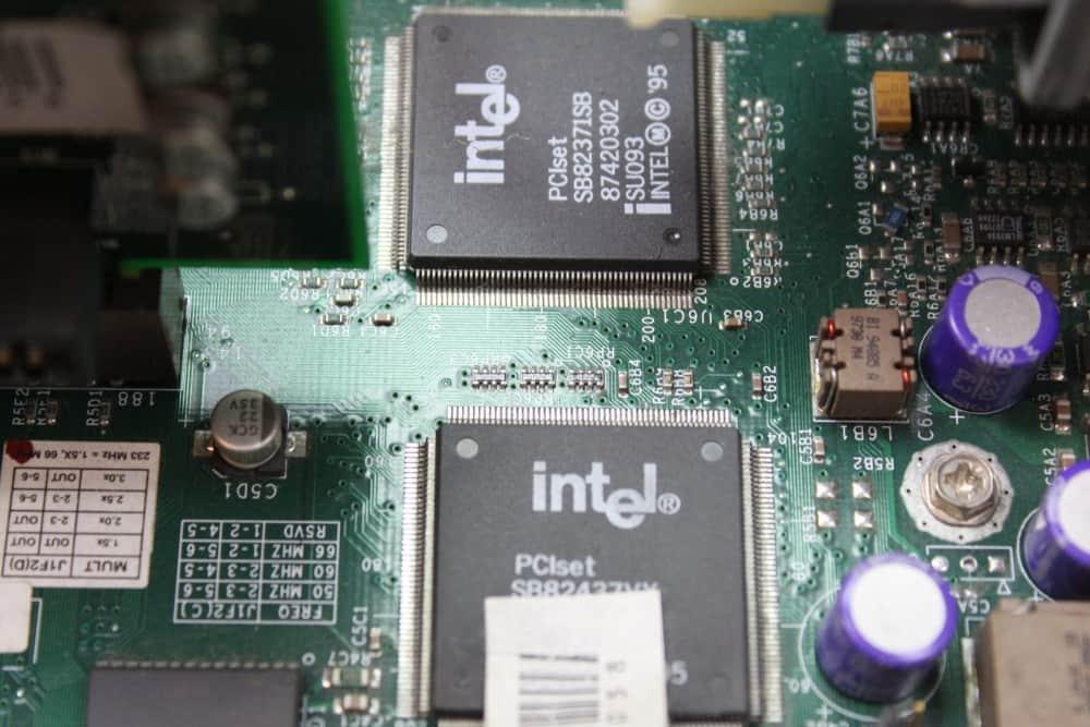 Zenith Data System Z-Station EL - Chipset