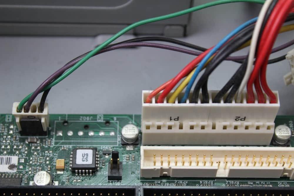 Zenith Data System Z-Station EL - Napájení
