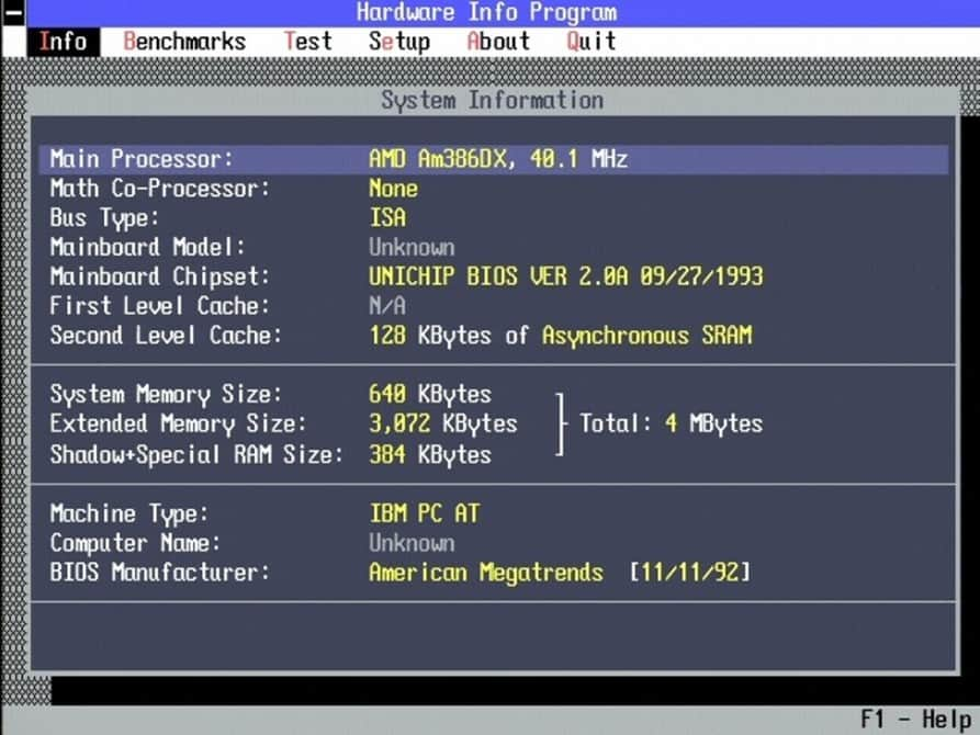 AMD-386DX-40MHz