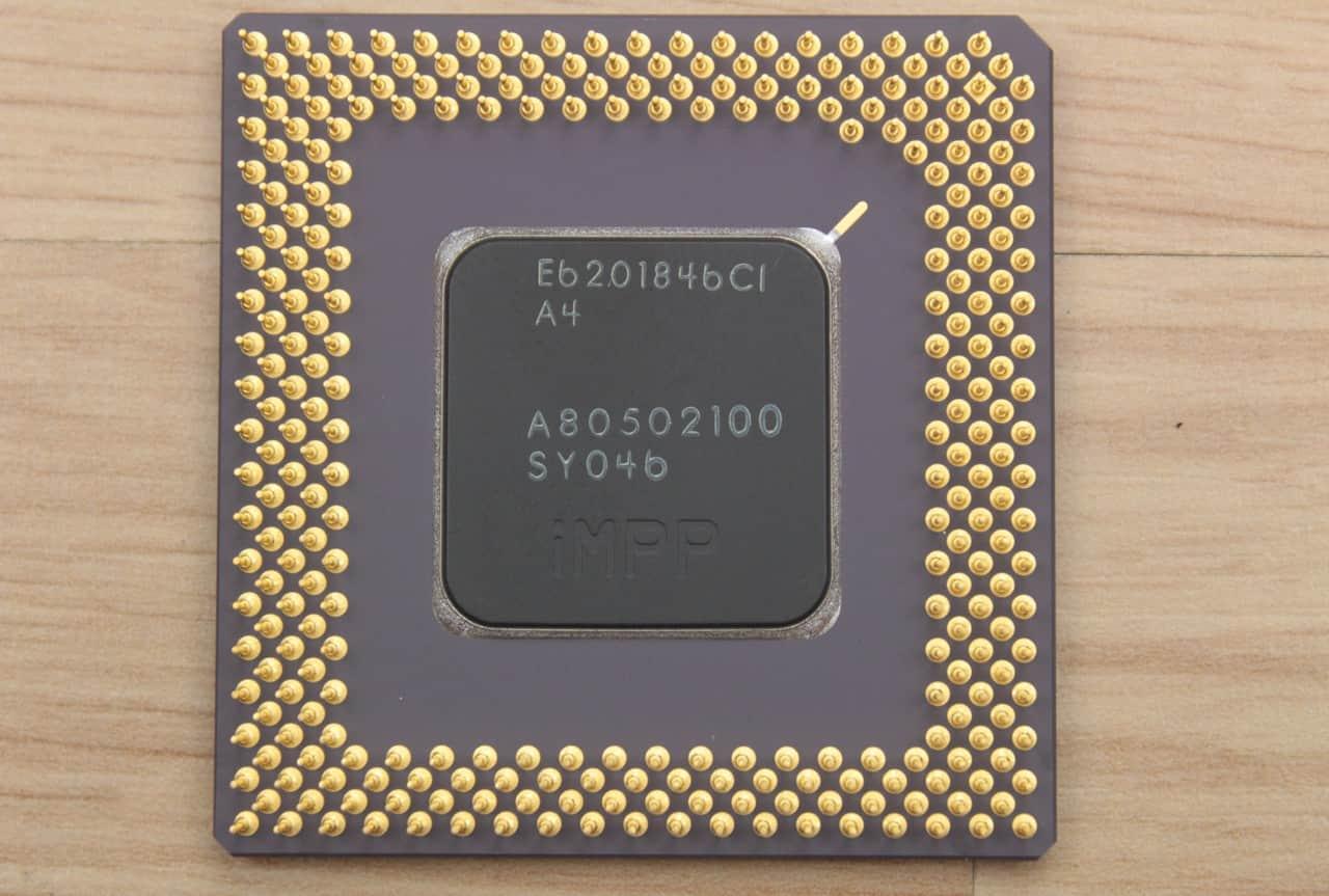 Intel Mobile Pentium 100MHz