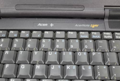 Čeština na klávesnici
