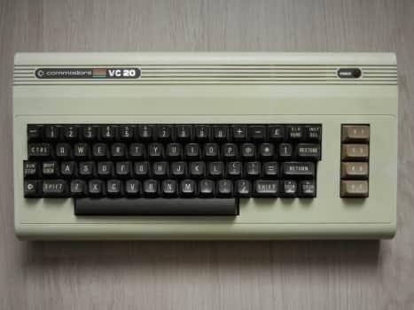 Commodore VC 20 - r.1981
