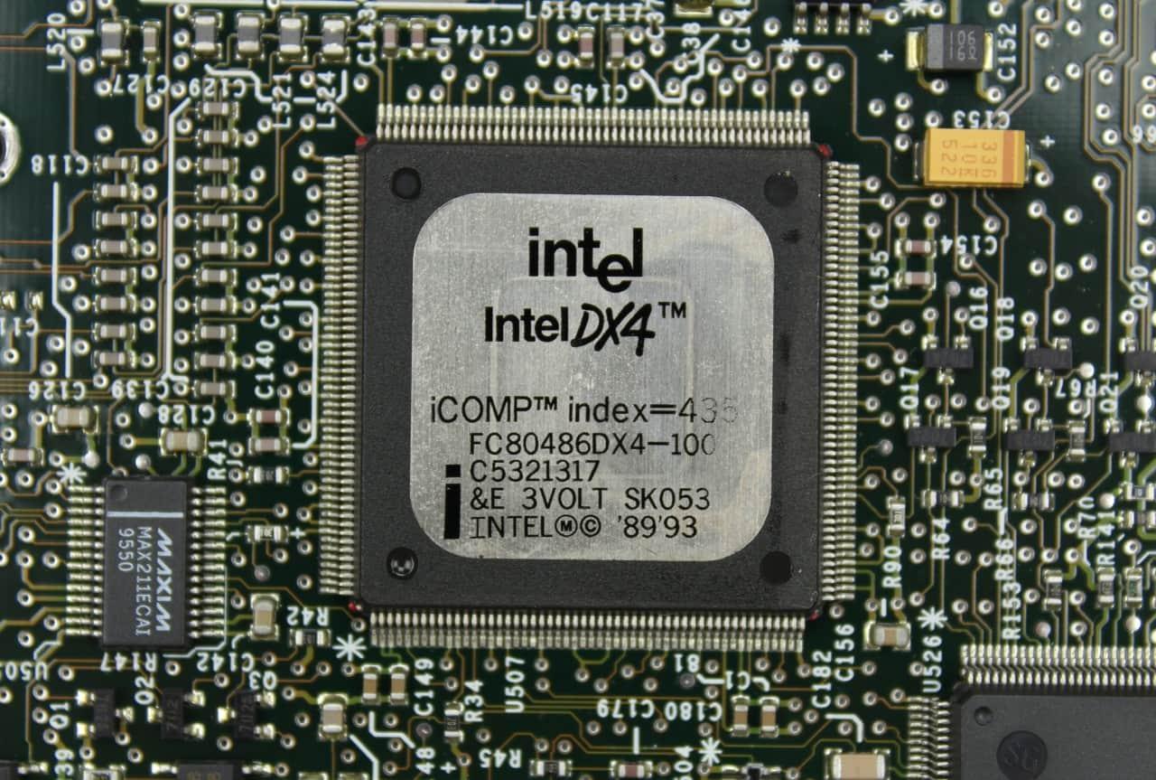 Procesor 486DX4 na 100MHz