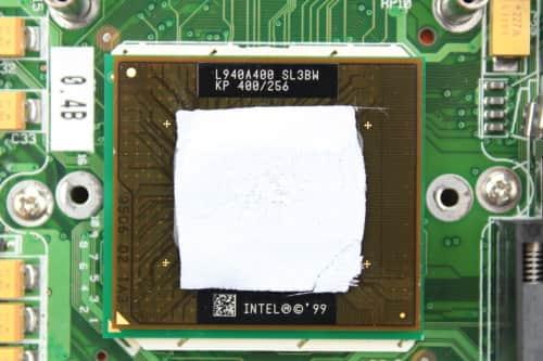 Intel Mobile Pentium 2 na 400MHz
