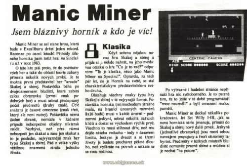 Manic Miner1