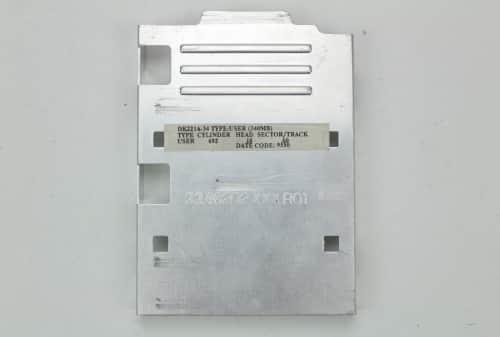Vrchní kryt pevného disku