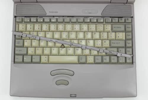 Uvolnění klávesnice
