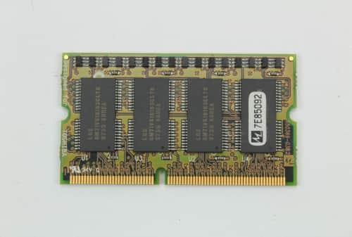 Přídavná paměť RAM detail