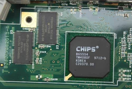 Grafický čip + 1MB