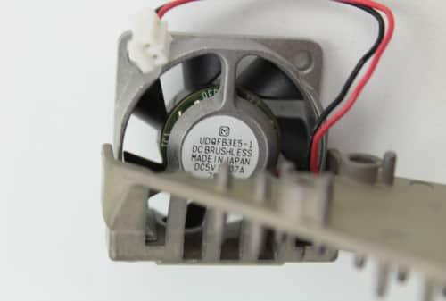 Ventilátor na vysátí horkého vzduchu