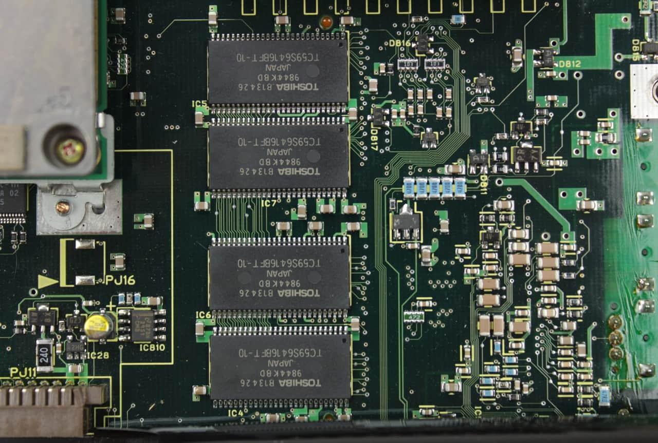 Integrovaná paměť RAM 32MB