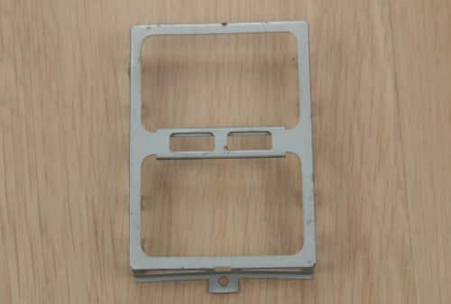 Prázdný rámeček pro harddisk