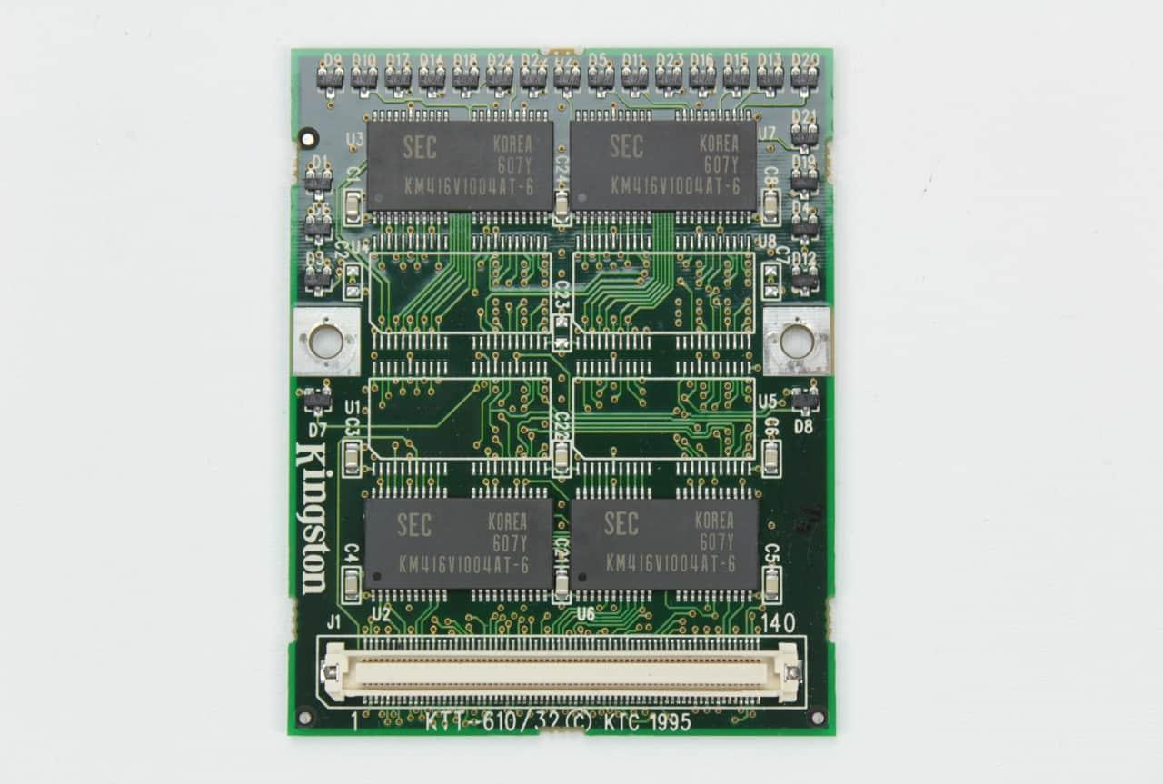 Přídavná RAM o velikosti 16MB