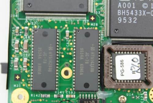 BIOS + paměť grafiky 1MB