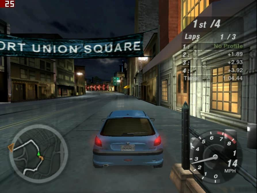 Need For Speed Underground 2 - nVidia GeForce2 GTS 32MB DDR - Asus V7700 DELUXE