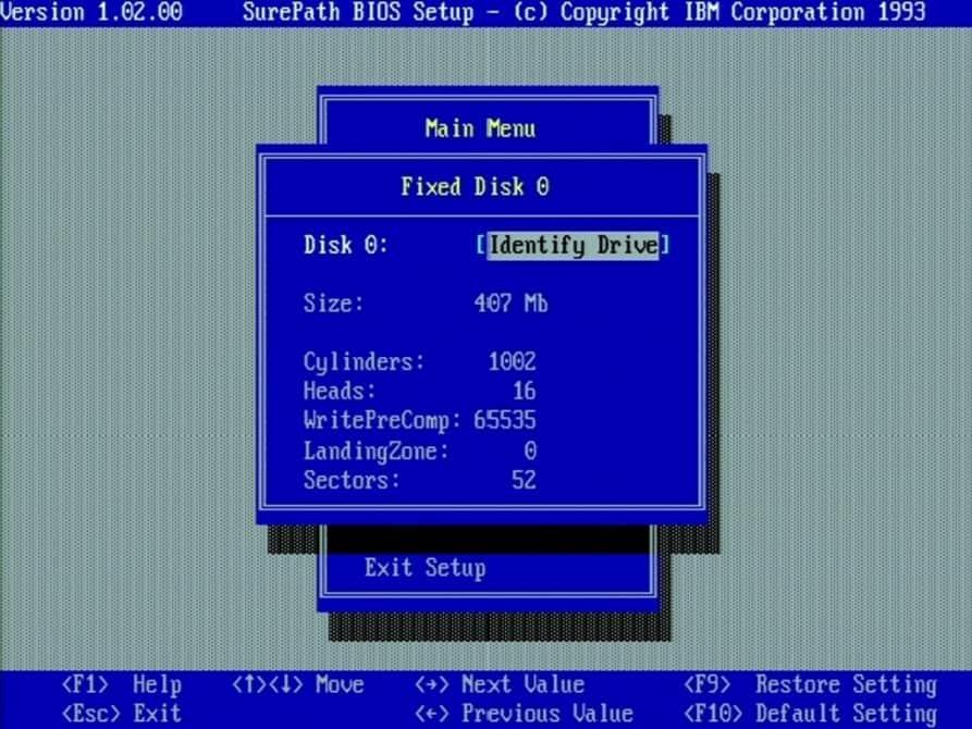 AT&T Globalyst 510 - BIOS