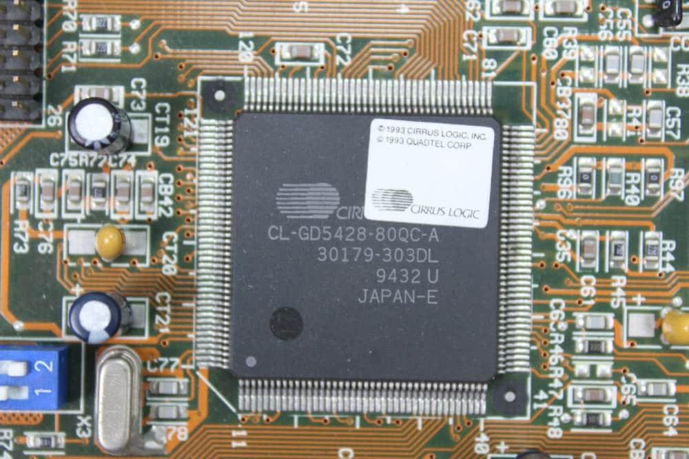 AT&T Globalyst 510 - Grafický čip