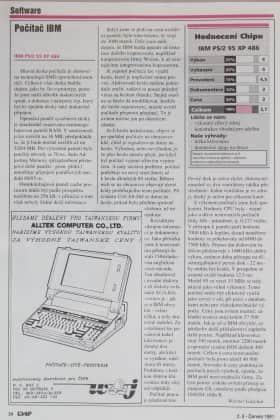Big Blue opět útočí - CHIP číslo 6/1991