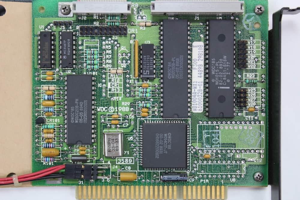Commodore-PC-10-III - řadič pevného disku