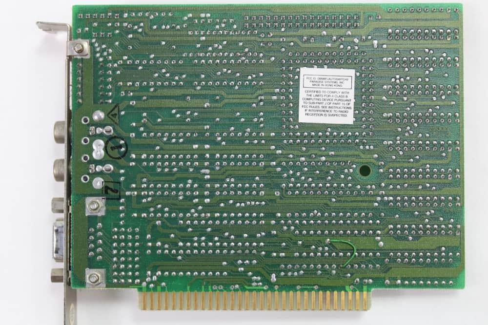 Commodore-PC-10-III - grafická karta EGA