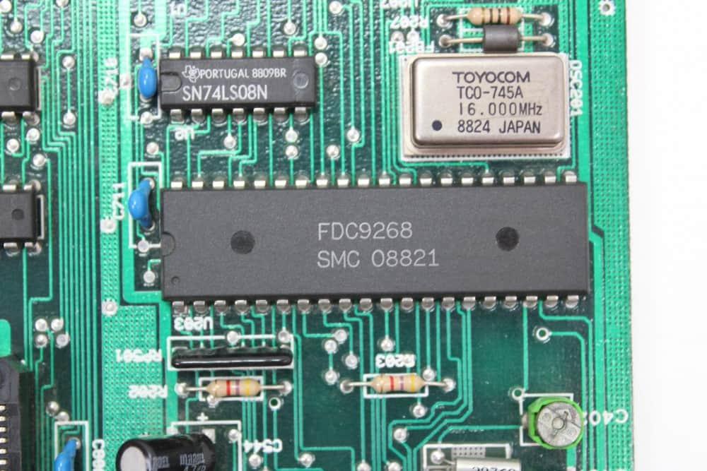 Commodore-PC-10-III - čip FDD