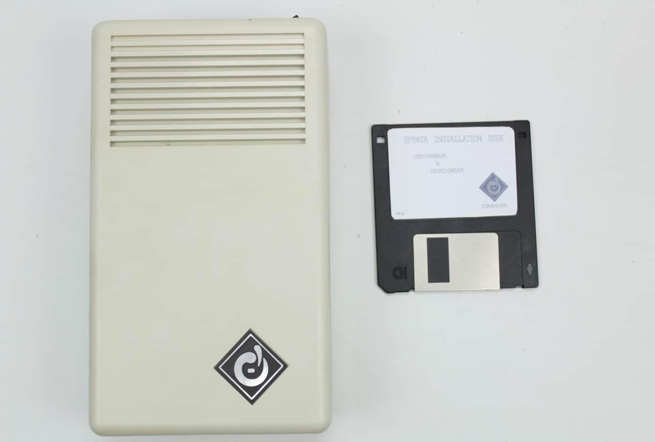 Box s LPT HDD a disketou