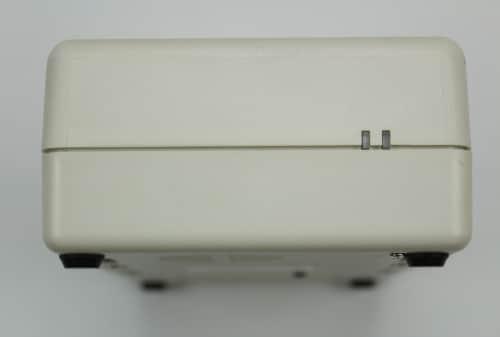 Box s LPT HDD ze předu a LED signalizací