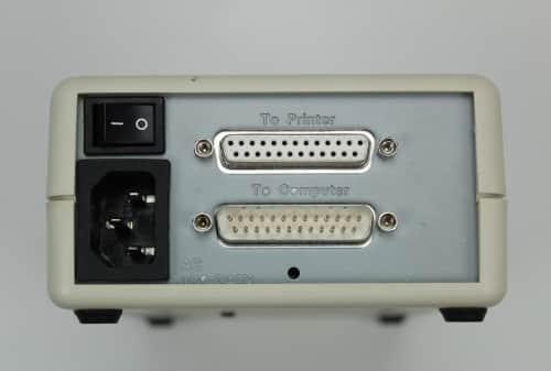 Box s LPT HDD zezadu