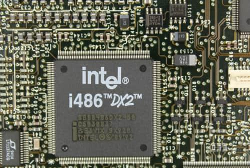 Procesor 486DX2 na 50MHz