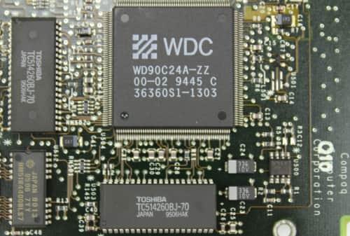 Grafický čip + 512KB