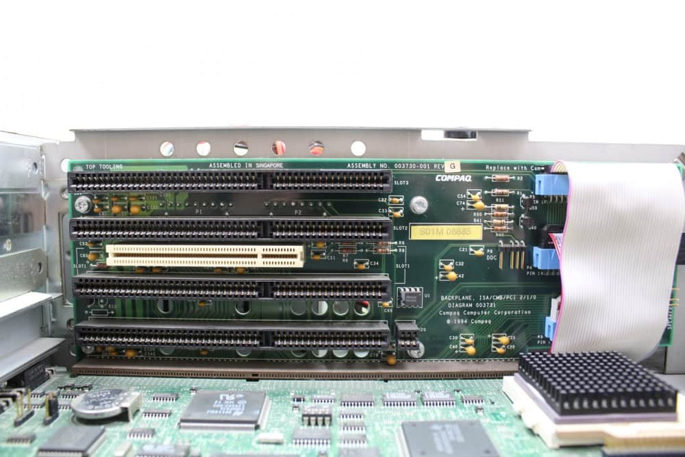 Compaq Deskpro 466 - Sloty