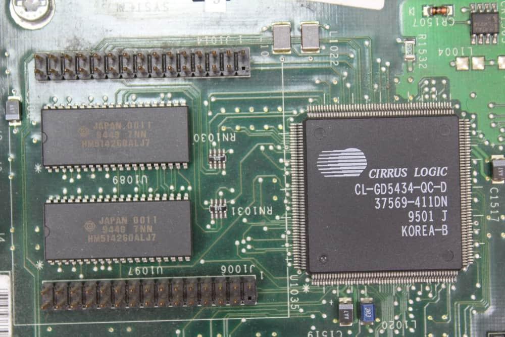 Compaq Deskpro 466 - Grafický čip + paměť 1MB