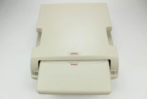 Dokovací stanice a vysunutý  notebook Compaq LTE Elite 4-75CXL