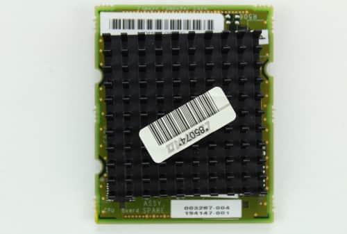 Procesor Intel 486DX4 na 75MHz zvrchu