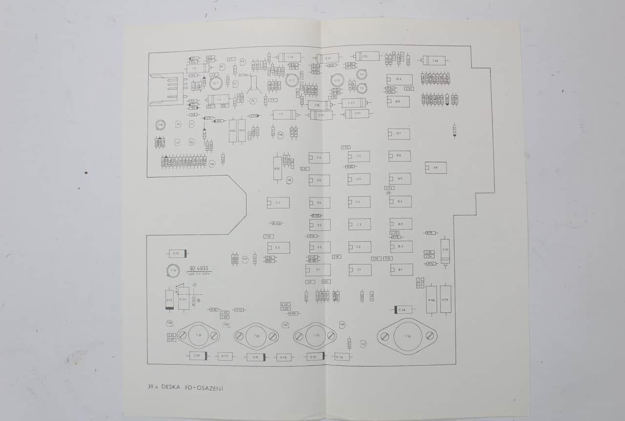 Manuály k 8 palcové mechanice Consul 7113