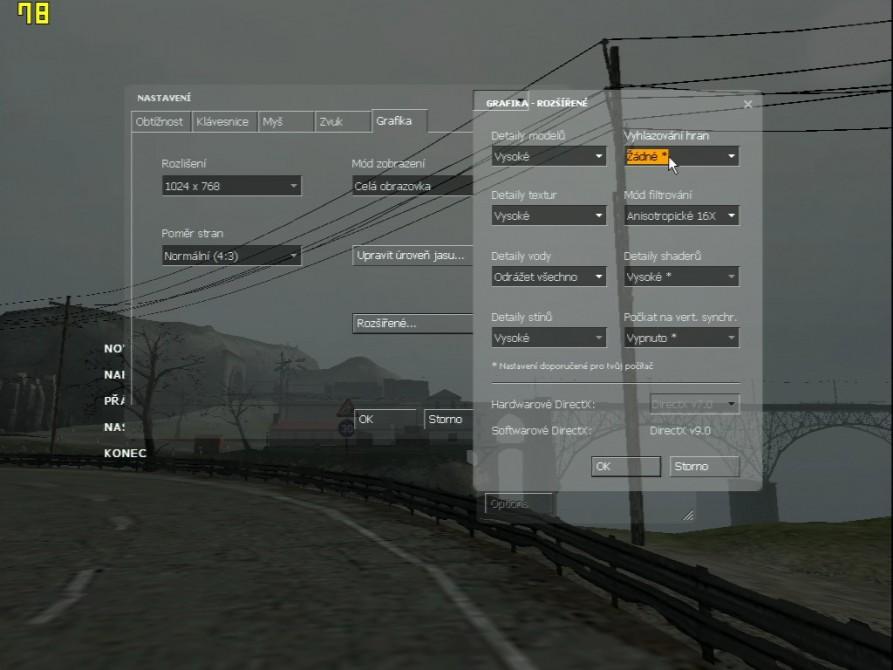 Half Life 2 (nastavení) - nVidia GeForce2 Ultra 64MB DDR - Creative Annihilator2 Ultra GB0040
