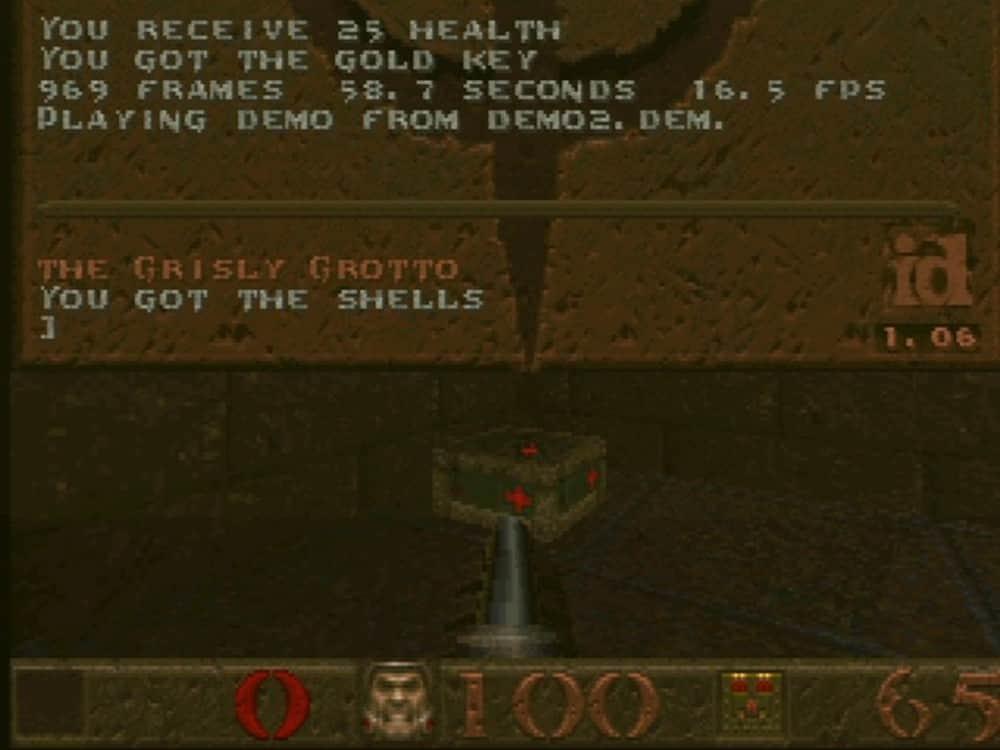 DELL OptiPlex GL 575 Testy v MS-DOS