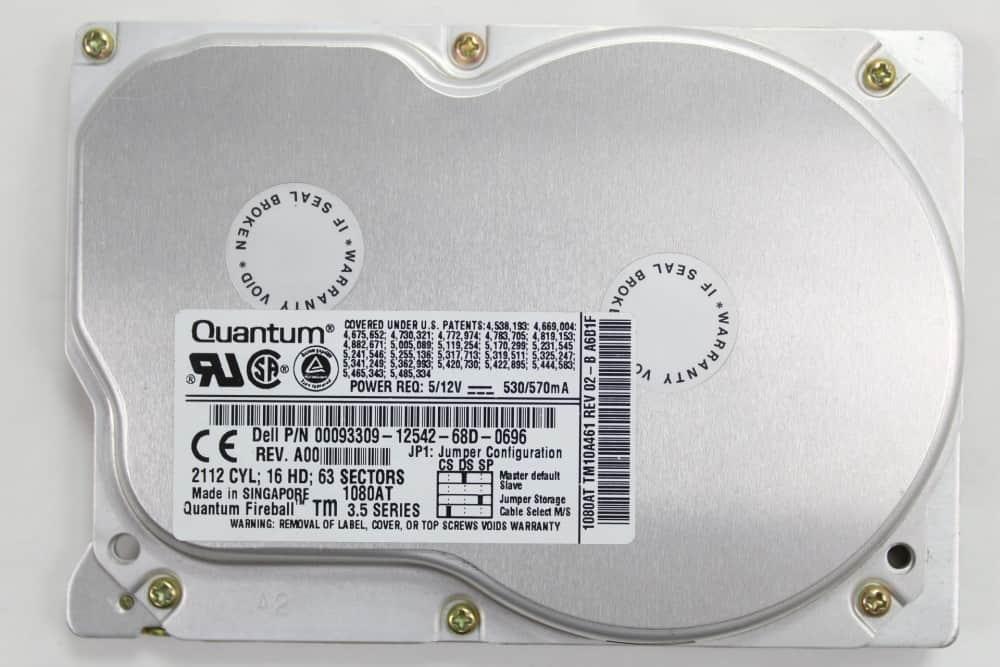 DELL OptiPlex GL 575 - HDD