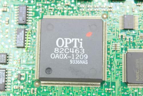 Chipset OPTi