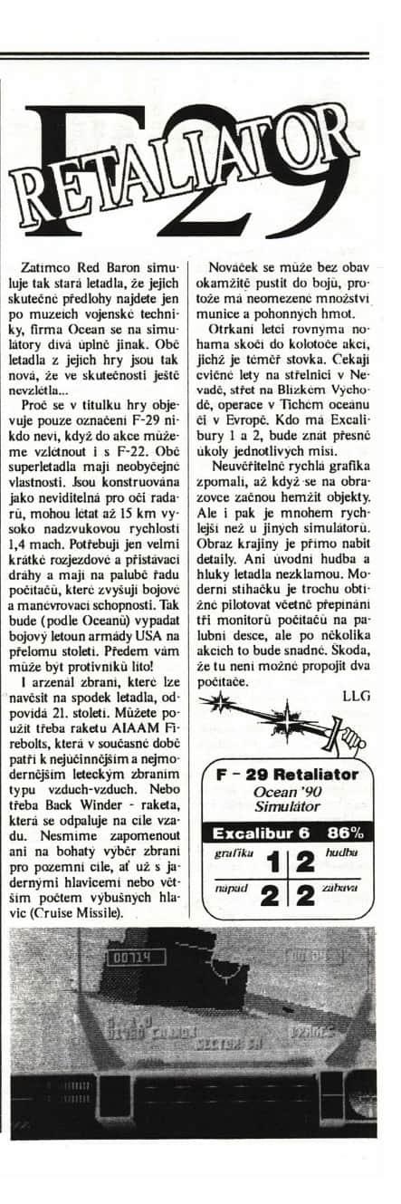 F-29 Retaliator
