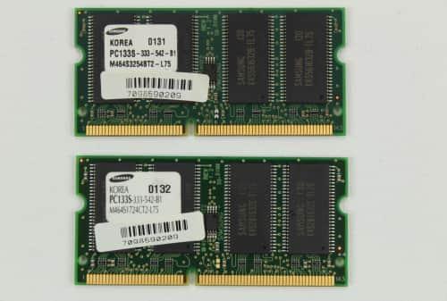 Paměť RAM dohromady 384MB