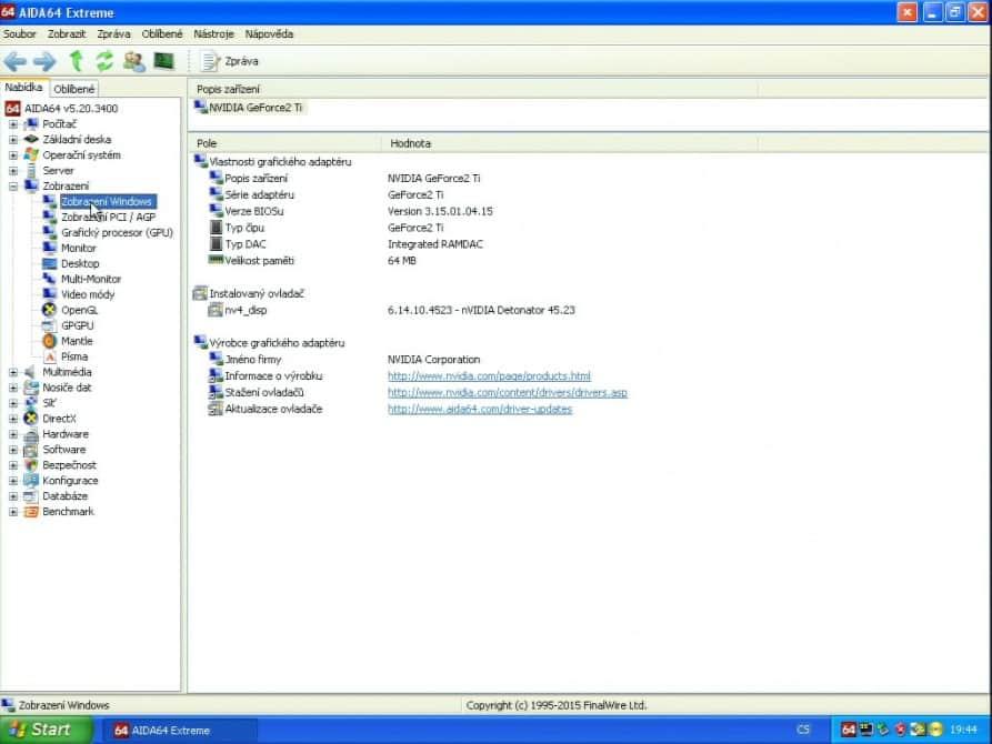nVidia GeForce2 TI 64MB DDR - Hercules 3D Prophet II TI