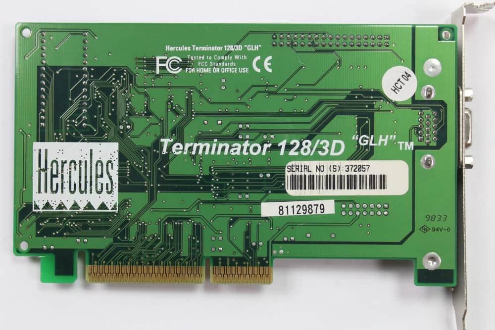 Hercules Terminator 128/3D