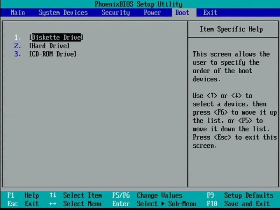 Hewlett-Packard-OmniBook-2100-BIOS