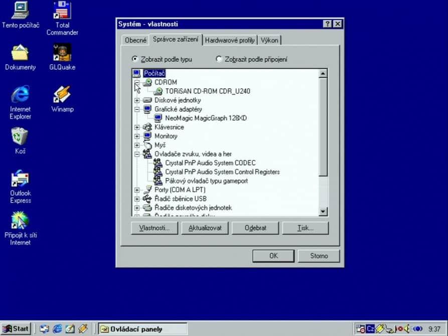Hewlett-Packard-OmniBook-2100-Test-Win98