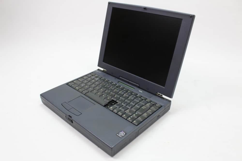 Hewlett Packard OmniBook 2100 - Otevřený zprava