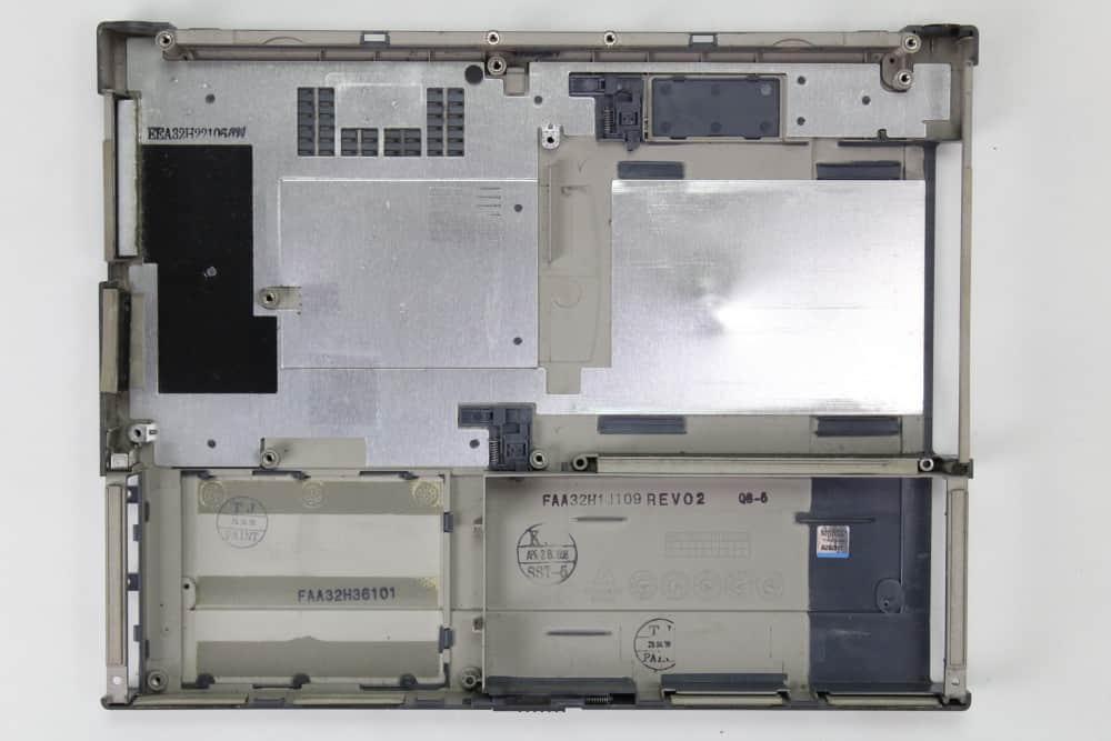 Hewlett Packard OmniBook 2100 - Spodní vana