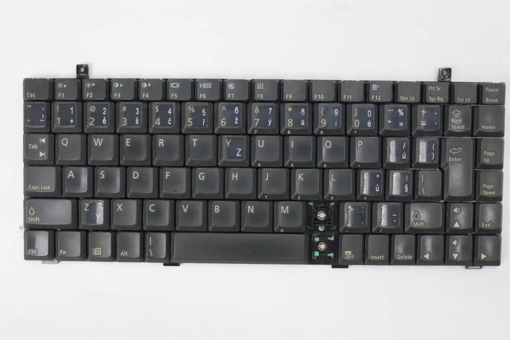 Hewlett Packard OmniBook 2100 - Samotná klávesnice