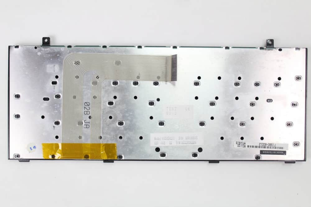 Hewlett Packard OmniBook 2100 - Samotná klávesnice zespodu