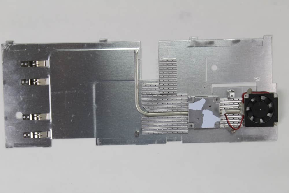 Hewlett Packard OmniBook 2100 - Chladič procesoru